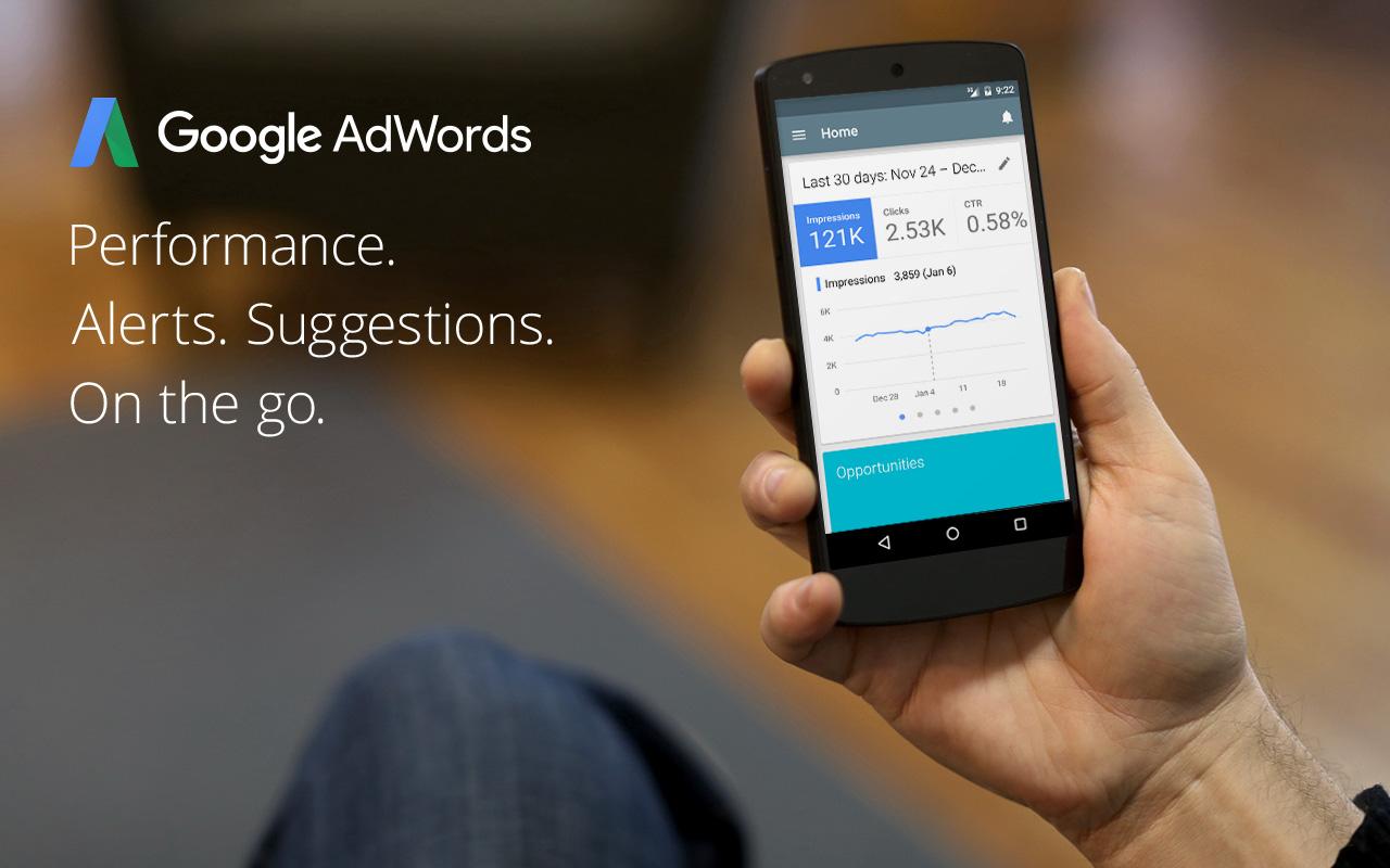 Die AdWords App
