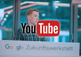 Felix Wenzel Google Zukunftswerkstatt YouTube Kurzclip